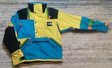 Vintage 90's The North Face Colorblock Neon Jacket Size Small USA Coat Snow Ski