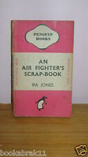 vintage penguin books '' AN AIR FIGHTER'S SCRAP-BOOK by IRE JONES '' TRAVEL