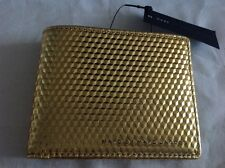 Marc by Marc Jacobs leather wallet - geometric pattern - gold - MARC JACOBS