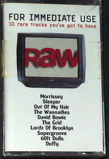 Various  For Immediate Use PROMO CASSETTE ALBUM Morrissey David Bowie Wannadies
