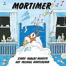 Mortimer kids funny story picture book Robert Munsch