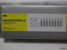KORG USB-MIDI controller nanoKONTROL2 white/black From Japan F/S epacket
