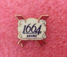 Pins Boisson Alcool BIÈRE KRONENBOURG 1664 Brune