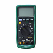 4000 MS8217 AC DC Autoranging Multimeter tester temp diode data hold buzz CATII