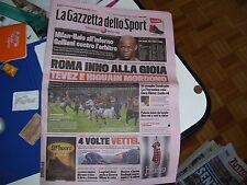 GAZZETTA DELLO SPORT 28/10/2013 VETTEL 4° MONDIALE ROMA UDINESE LORENZO MARQUEZ