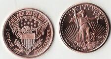 1933 St. Gaudens $20 Gold 1 oz. Copper Round Coin