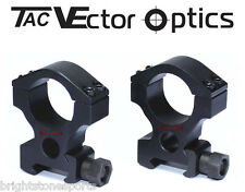 Vector Optics 1 inch High Weaver Mount Rings f Laser Flashlight Rifle scope