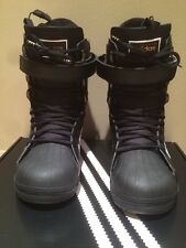 Adidas Superstar Snowboarding Boots Size 9 S85651 Black And White