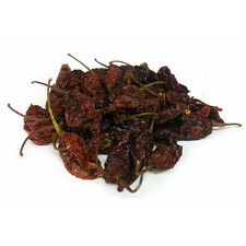 Chilli Pods - 10g Dried Chilli  Chocolate Naga Jolokia Pods - Ghost Pepper