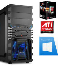 PC QuadCore 4x 4,3 Ghz GAMER A10 7890K 16GB 240GB SSD 1000GB Komplett Windows 10