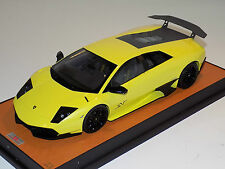 1/18 MR Collection Lamborghini Murcielago R-SV Gialo Tenerife