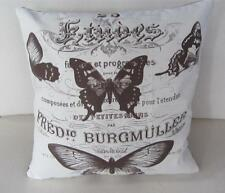 Beautiful French 'Burgmuller' Butterflies Cushion Cover 40cm