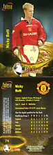 FUTERA 1998 MANCHESTER UNITED NICKY BUTT WORLD CUP 98 CARD NUMBER 74