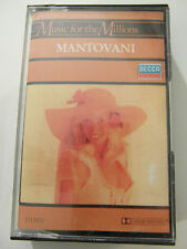 Mantovani - Music For The Millions - Album Cassette Tape, Used Very Good