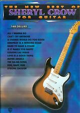 The New Best Of Sheryl Crow For Guitar tab deluxe songbook All I Wanna Do