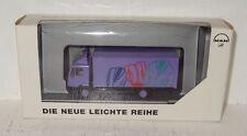 Herpa MAN L2000 Koffer Die neue leichte Reihe Werbemodell 1:87 OVP