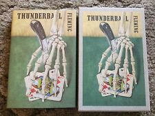 THUNDERBALL Ian Fleming 1989 First Edition Library facsimile slipcased HC OOP