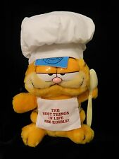 1990 Alpo Premium Plush Garfield Doll by Dakin