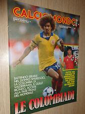 INSERTO CALCIOMONDO SUPPLEMENTO GUERIN SPORTIVO N°46 DEL 15-11-1989 COLOMBIADI