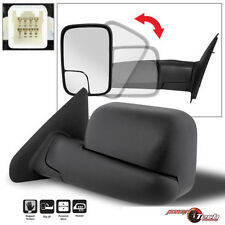 02-08 Ram 1500 03-09 2500 3500 Towing Extend FlipUp POWER Heated Mirror Driver