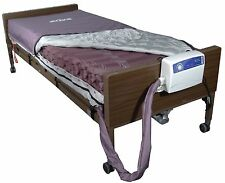 Drive Medical Low Air Loss Alternating Pressure Hospital Bed Mattress 14027