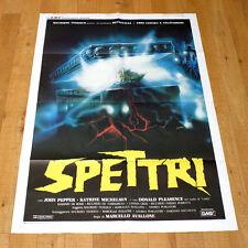 SPETTRI poster manifesto Donald Pleasence Katrine Michelsen John Pepper Horror