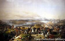 The Battle of Borodino (Russia) by Peter von Hess - 1843 Classical Art Print