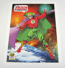 Green Lantern 2015 Akron Comicon Art Print Poster Signed by Mike Gustovich OHIO