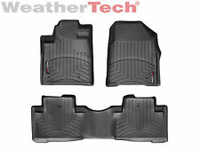 WeatherTech® Floor Mats FloorLiner for Honda Pilot - 2009-2015 - Black