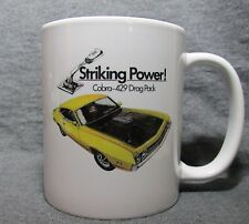 1970 Ford Torino 429 Cobra Coffee Cup, Mug - New - 70's Classic - Sharp!