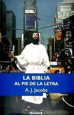 Biblia al pie de la letra, La Spanish Edition