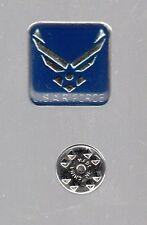 Q100 U.S.AIR FORCE PINBACK - ATRACTIVE - USED - NO DAMAGE