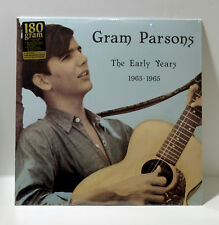 GRAM PARSONS The Early Years 1963 - 1965 180-gram VINYL LP Sealed/New The Byrds