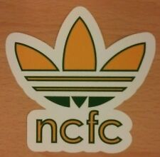 Norwich City FC Adidas Originals Sticker Pack (5 designs in pack)