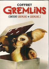"""DVD """"Gremlins + Gremlins 2 : la nouvelle génération"""" -NEUF SOUS BLISTER"""