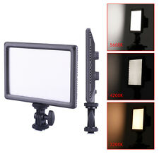 Neewer Ultra Thin 112-LED Dimmable Video Light Pad for DSLR Cameras Camcorder