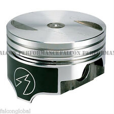 """Speed Pro/TRW Chevy 454/7.4 Forged Flat Top 2VR Coated Skirt Piston Set/8 +.030"""""""