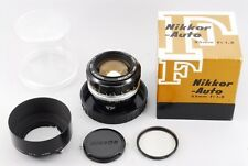 [EXC+++++]Nikon NIKKOR-S Auto 55mm F1.2 MF Lens w/ Box Hood from Japan #Z22Y