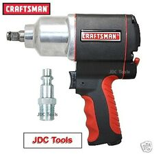 "Craftsman 1/2"" Drive Air Impact Wrench Pneumatic Gun 16882 *^NEW^* w adapter"