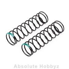 Hot Bodies 83mm Big Bore Shock Spring (Green) (2) (54.7gF) - HBS109812