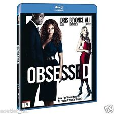 Obsessed Blu-ray Region B NEW SEALED Idris Elba Beyonce Knowles