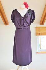 Betty Jackson Black - Silk Mix Dress UK 20 NEW with tags.