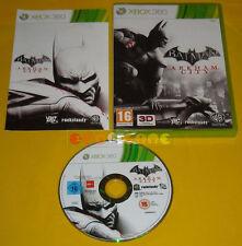 BATMAN ARKHAM CITY XBOX 360 Versione Ufficiale Italiana 1ª Edizione »»» COMPLETO