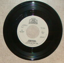"Canyon Love is on the Line DJ white 45 RPM 7"" record 16th Avenue PB-70423"