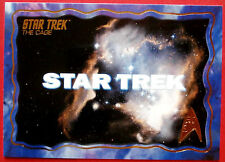 """STAR TREK TOS 50th Anniversary - """"THE CAGE"""" - GOLD FOIL Chase Card #1"""