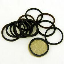 Nero-Marrone NUOVE bande elastiche per cavallo capelli calza mostrando confezione da 25