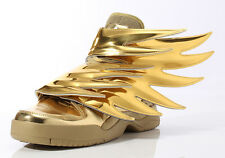 Adidas Originals X JS Jeremy Scott Wings 3.0 Metallic Gold Men New 2015 Size 9