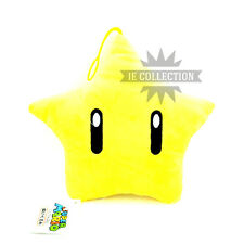 SUPER MARIO BROS. STELLA PELUCHE PUPAZZO plush star new NINTENDO wiiu point 3ds