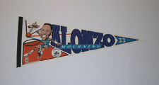 1992 HORNETS Alonzo Mourniing ROOKIE era caricature pennant rare Charlotte