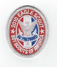 """BSA Issue - 2010 Eagle Scout Rank Patch - TYPE 11-B1 - Very """"MINT"""" Condition!!!"""